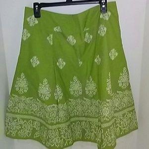 Talbots Boho Skirt